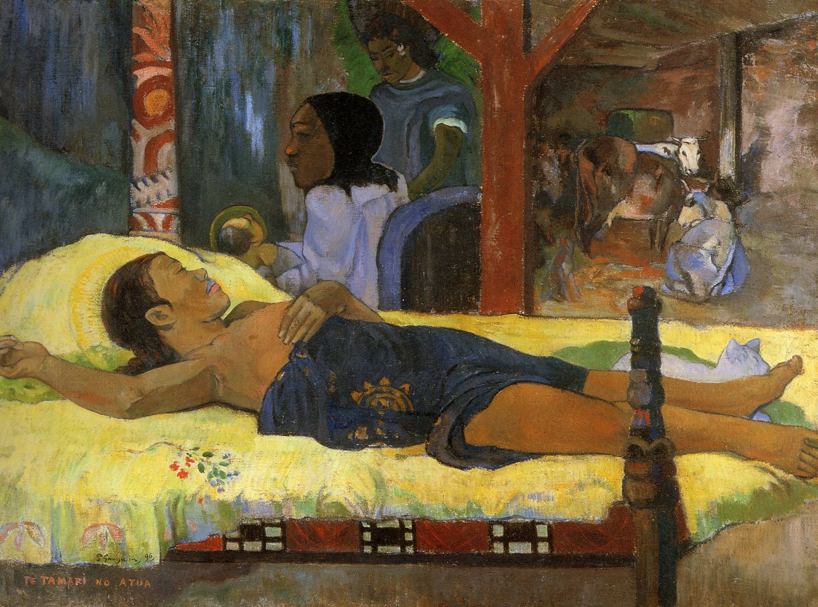 nativite gauguin